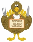 Digital Download: Gobble Til You Wobble Laser Die Cut