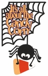 Digital Download: It's All About The Candy Corn Page Corner Laser Die Cut