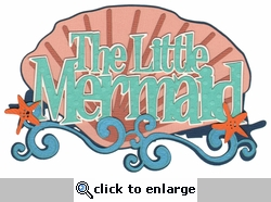 Digital Download: Little Mermaid Laser Die Cut