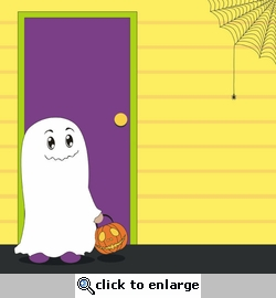 Digital Download: Little Monsters: Trick or Treat 12 x 12 Paper