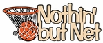 Digital Download: Nothin` But Net Laser Die Cut