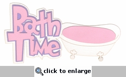 Digital Download: Oh Baby!: Bath Time Pink Die Cut