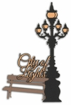 Digital Download: Oh La La: City of Lights Die Cut