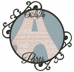 Digital Download: Oh La La: Eiffel Tower Die Cut