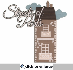 Digital Download: Oh La La: Streets of Paris Die Cut