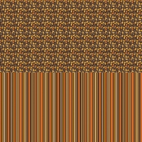 Digital Download: Pick of the Patch: Halvsies - Leaves and Stripes 12 x 12 Paper