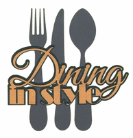 Digital Download: Ports of Call: Dining In Style Die Cut