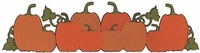 Digital Download: Pumpkin Patch Border Laser Die Cut