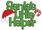Digital Download: Santa's Helper Laser Die Cut