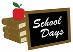 Digital Download: School Days Laser Die Cut