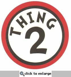 Digital Download: Seuss: Thing 2 Die Cut