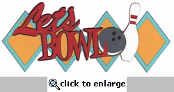 Digital Download: Spare Me: Bowling Ball And Pins Laser Die Cut