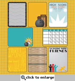 Digital Download: Spare Me: Journaling Cards 12 x 12 Paper