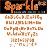 Digital Download: Sparkle: Citrine Alpha Set