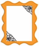 Digital Download: Spider Web Photo Frame Laser Die Cut