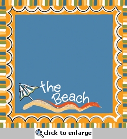 Digital Download: The Beach Frame 12 x 12 Paper