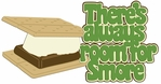Digital Download: There's Always Room For Smore Laser Die Cut