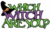 Digital Download: Which Witch are You? Laser Die Cut