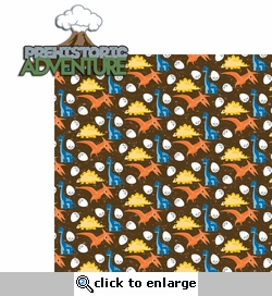 Dino: Prehistoric Adventure 2 Piece Laser Die Cut Kit