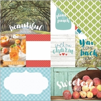 Discover USA: Southern Charm 12 x 12 Double Sided Cardstock