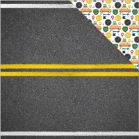 Discover USA: The Open Road 12 x 12 Double Sided Cardstock