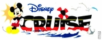 Disney Cruise Dimensional Sticker