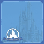 Disney Magic Moments: Magic Kingdom Custom 12 x 12 Paper