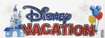 Disney Vacation Dimensional Stickers