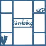 Diving & Snorkeling  Scrapbooking