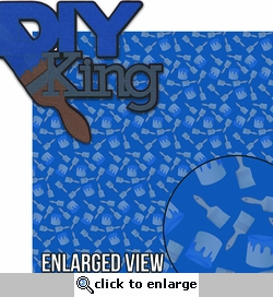 DIY: DIY King Laser 2 Piece Die Cut Kit