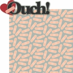 Doctor Doctor: Ouch! 2 Piece Laser Die Cut Kit