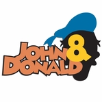Donald: Custom Name and Donald Laser Die Cut