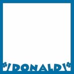 Donald: Donald 12 x 12 Overlay Laser Die Cut