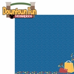 Downtown: Downtown Fun 2 Piece Laser Die Cut Kit