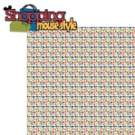 Downtown: Shopping Mouse Style 2 Piece Laser Die Cut Kit