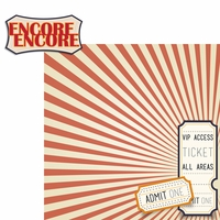 Drama Days: Encore Encore! 2 Piece Laser Die Cut Kit