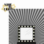 Drama Days: Name In Lights 2 Piece Laser Die Cut Kit