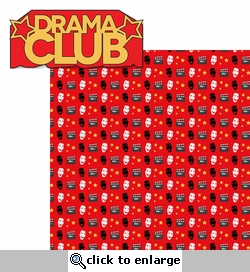Drama: Drama Club 2 Piece Laser Die Cut Kit