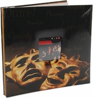 Drama Mask 12 x 12 Post-Bound Scrapbook Album