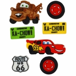 Dress It Up: Disney Cars Embellishments