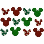 Dress It Up: Disney Holiday Candies Embellishments