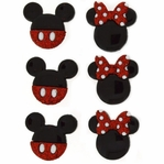 Dress It Up: Disney Mickey & Minnie Embellishments