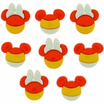 Dress It Up: Mickey & Minnie Candy Corn Embellishments