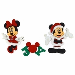 Dress It Up: Mickey & Minnie Embellishments