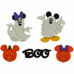 Dress It Up: Mickey & Minnie Ghosts Embellishments