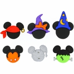 Dress It Up: Mickey & Minnie Halloween Hats Embellishments