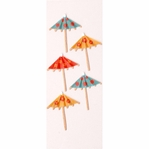 Drink Umbrellas MINI Stickers