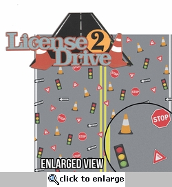 Drivers Training: License 2 Drive 2 Piece Laser Die Cut Kit