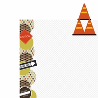 Driving: Cones 2 Piece Laser Die Cut Kit