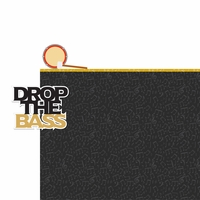 Drumline: Drop The Bass 2 Piece Laser Die Cut Kit